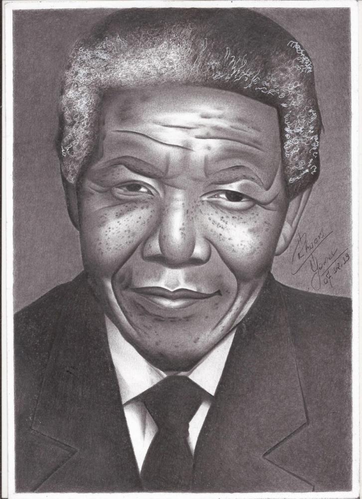 Nelson Mandela por RhuanG